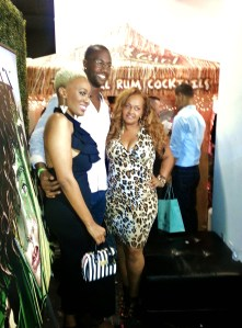 Michael Johnson here w/ Publicist Trea Davenport of Tre Day PR and LA Hair's China Upshaw.