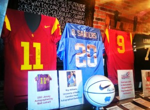 Here are some of the items listed for the Matt Leinart Foundation's Silent Auction.
